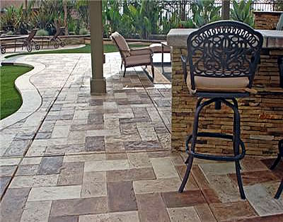 Boise Concrete Patios Tips Stamped Stained Decorative And