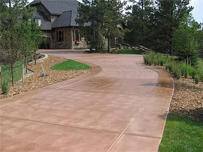 Lenz Custom Concrete Boise Driveways Stamped Stained