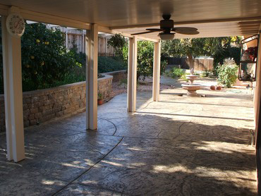 Boise Stamped Concrete Patio